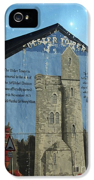 Ulster Tower Mural IPhone 5 Case