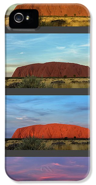 Uluru Sunset IPhone 5 Case