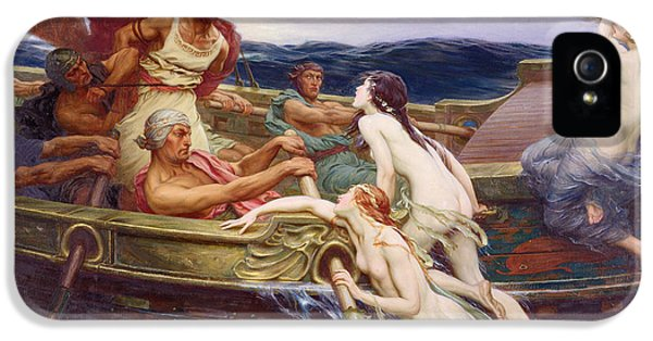 Ulysses And The Sirens IPhone 5 Case by Herbert James Draper