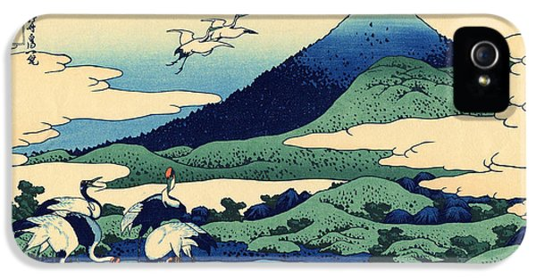 Umegawa In Sagami Province, One Of Thirty Six Views Of Mount Fuji IPhone 5 Case by Hokusai