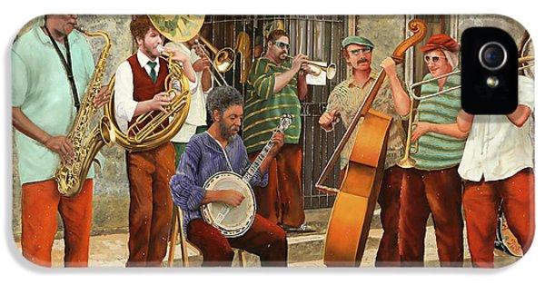 Un Po' Di Jazz IPhone 5 Case by Guido Borelli