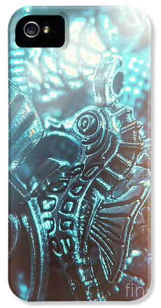 Seahorse iPhone 5 Case - Under Blue Seas by Jorgo Photography - Wall Art Gallery