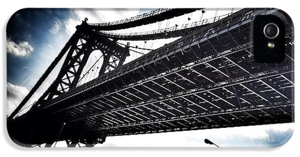 Under The Bridge IPhone 5 Case by Christopher Leon
