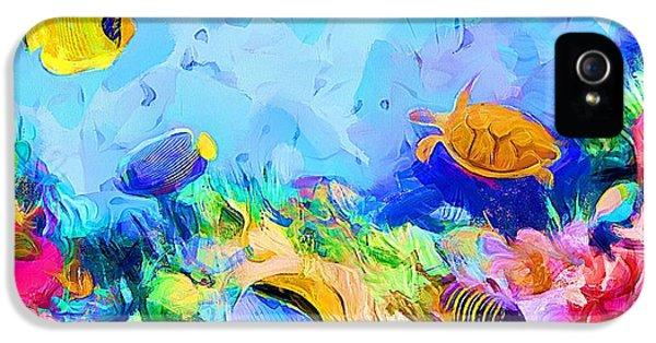 Under The Sea - Aquarium IPhone 5 Case