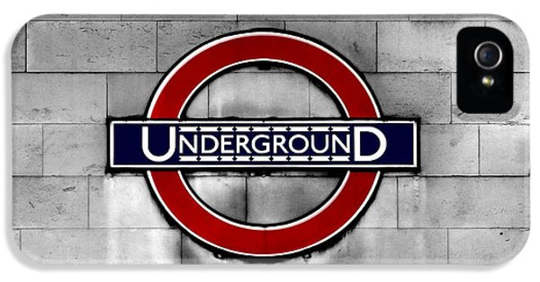 Underground IPhone 5 / 5s Case by Mark Rogan