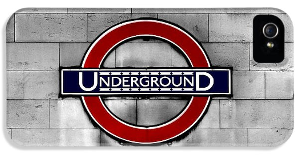 Underground IPhone 5 Case by Mark Rogan