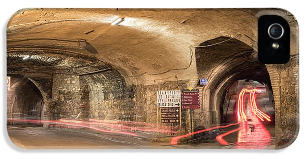 Dungeon iPhone 5 Case - Underground Tunnels In Guanajuato, Mexico by Juli Scalzi