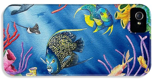Undersea Garden IPhone 5 Case by Gale Cochran-Smith