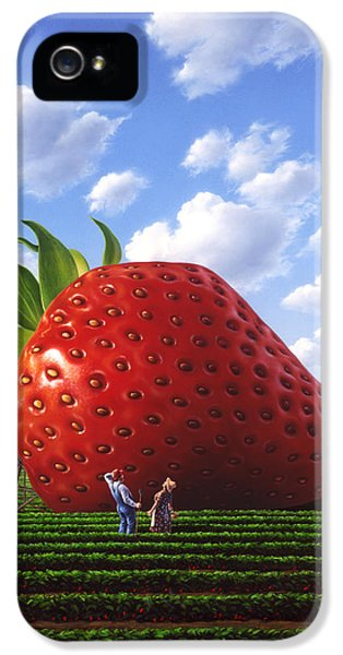 Unexpected Growth IPhone 5 Case by Jerry LoFaro