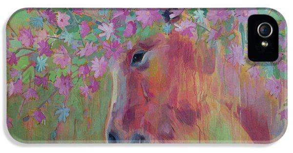 Uni Corn Flower II IPhone 5 Case by Kimberly Santini