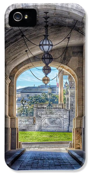 United States Capitol - Archway IPhone 5 Case
