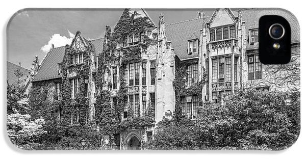 University Of Chicago Eckhart Hall IPhone 5 / 5s Case by University Icons