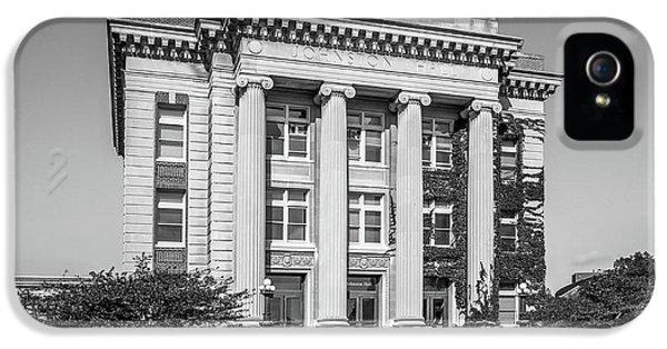 University Of Minnesota Johnston Hall IPhone 5 / 5s Case by University Icons