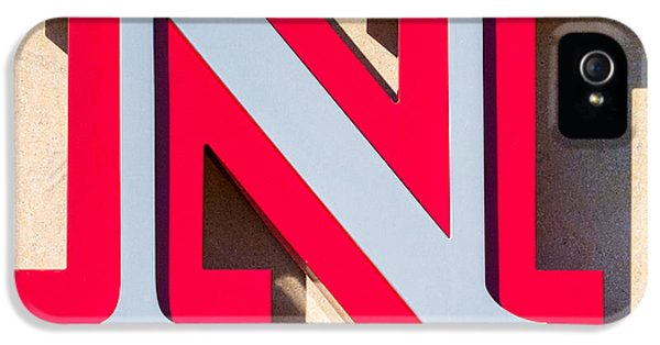 Johnny Carson iPhone 5 Case - UNL by Jerry Fornarotto