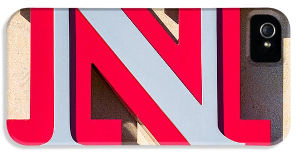 UNL IPhone 5 Case by Jerry Fornarotto