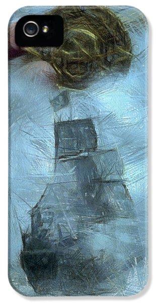 Unnatural Fog IPhone 5 Case by Benjamin Dean