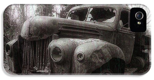 Truck iPhone 5 Case - Unquiet Slumbers For The Sleeper by Jerry LoFaro