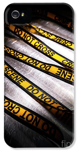 Unravelling Crime Investigation IPhone 5 Case by Jorgo Photography - Wall Art Gallery