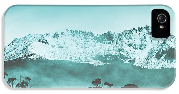 Untouched Winter Peaks IPhone 5 Case by Jorgo Photography - Wall Art Gallery