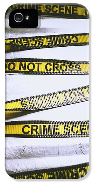 Cross iPhone 5 Case - Unwrapping A Murder Investigation by Jorgo Photography - Wall Art Gallery
