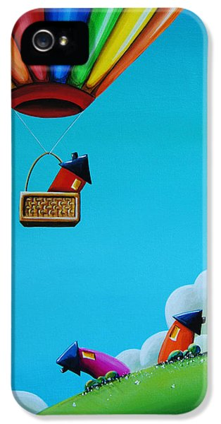 Up Up And Away IPhone 5 Case by Cindy Thornton
