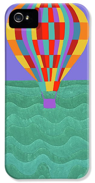 iPhone 5 Case - Up Up And Away by Synthia SAINT JAMES