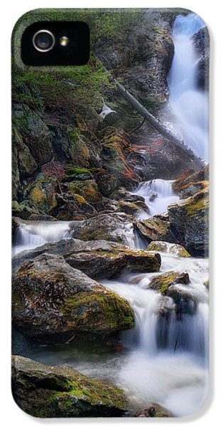 IPhone 5 Case featuring the photograph Upper Race Brook Falls 2017 by Bill Wakeley