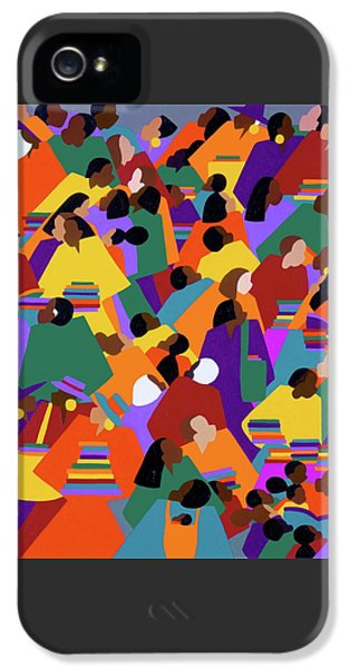 iPhone 5 Case - Uptown by Synthia SAINT JAMES