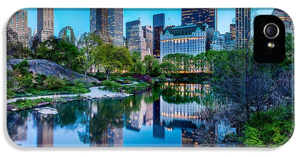 Urban Oasis IPhone 5 Case by Az Jackson