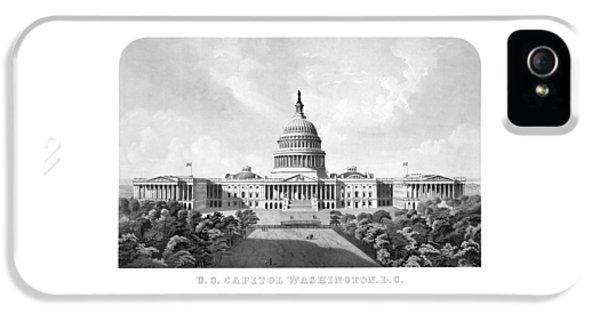 Us Capitol Building - Washington Dc IPhone 5 Case