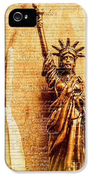 Us Constitution IPhone 5 Case by Jorgo Photography - Wall Art Gallery