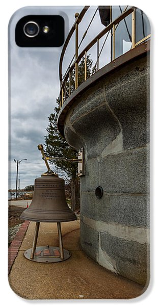 Us Lighthouse Service Bell IPhone 5 Case by Brian MacLean