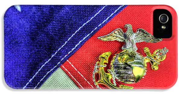 Us Marine Corps IPhone 5 Case by JC Findley