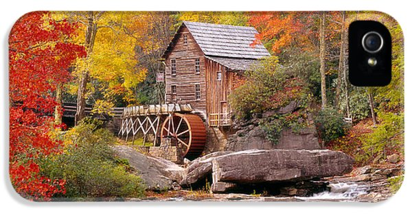 Usa, West Virginia, Glade Creek Grist IPhone 5 Case by Panoramic Images
