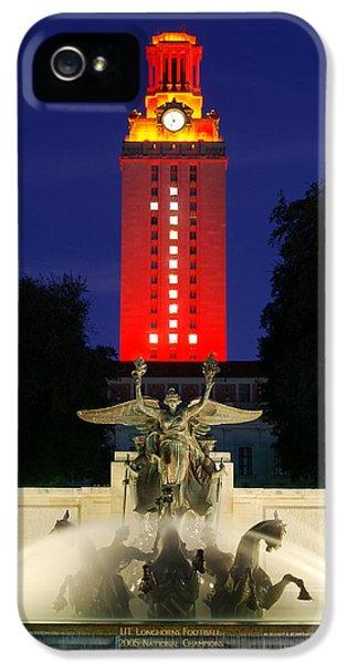 Ut Austin Tower Orange IPhone 5 Case