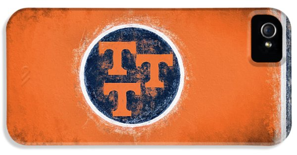IPhone 5 Case featuring the digital art Ut Tennessee Flag by JC Findley