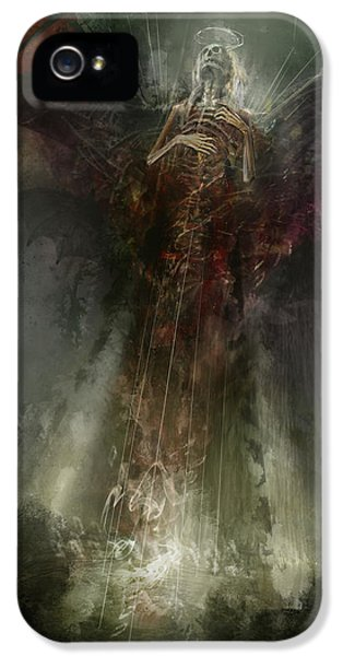 Utherworlds The Clouding IPhone 5 Case by Philip Straub