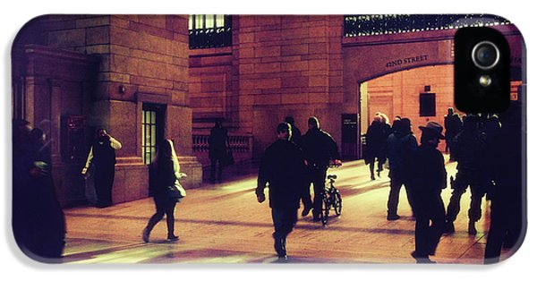 IPhone 5 Case featuring the photograph Grand Central Rush by Jessica Jenney