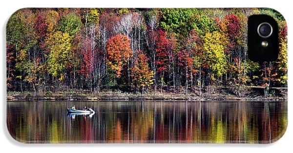 Vanishing Autumn Reflection Landscape IPhone 5 Case
