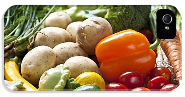 Vegetables IPhone 5 Case by Elena Elisseeva