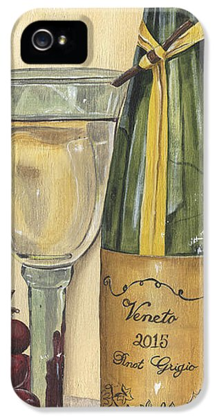 Veneto Pinot Grigio Panel IPhone 5 Case by Debbie DeWitt