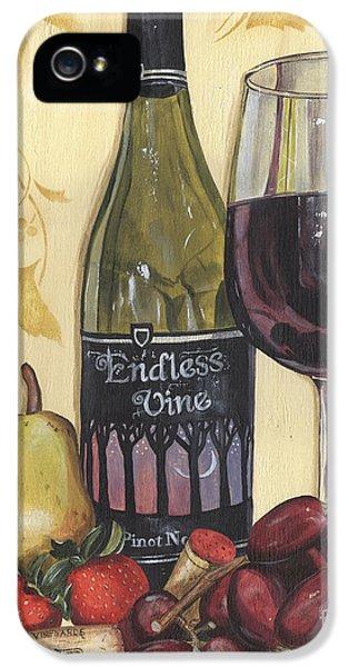 Veneto Pinot Noir IPhone 5 Case by Debbie DeWitt