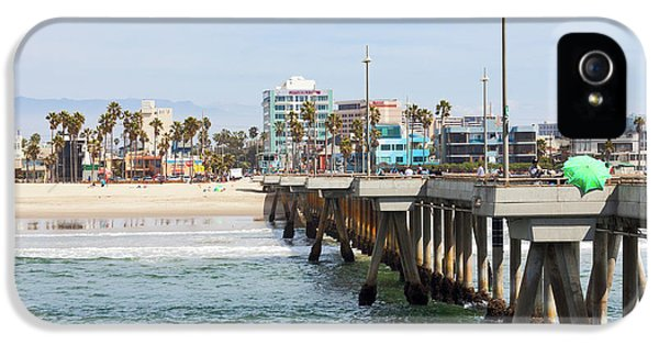 Venice Beach From The Pier IPhone 5 / 5s Case by Ana V Ramirez
