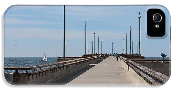 Venice Beach Pier IPhone 5 Case by Ana V Ramirez