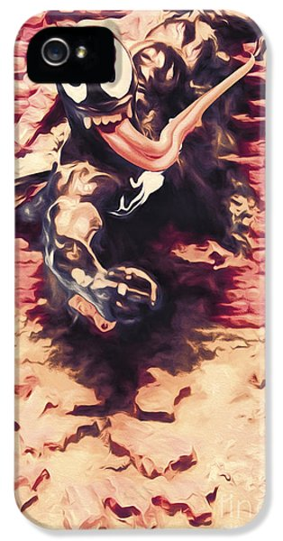 Venom Breaking Brick Wall IPhone 5 Case