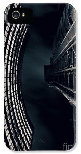 Vertigo I IPhone 5 Case by Jasna Buncic