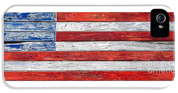 Very Old Glory IPhone 5 Case by Olivier Le Queinec