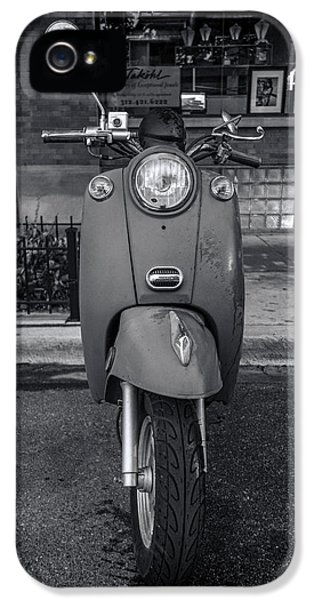 IPhone 5 Case featuring the photograph Vespa by Sebastian Musial