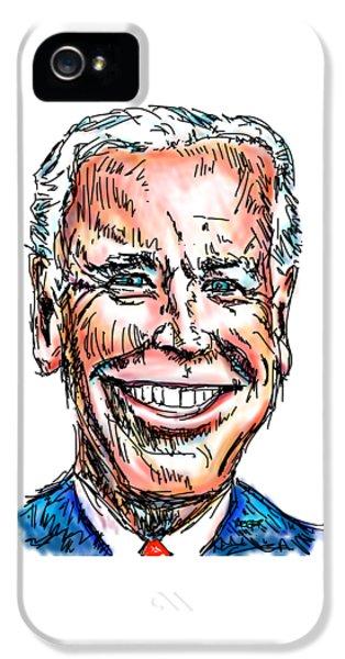 Vice President Joe Biden IPhone 5 Case by Robert Yaeger