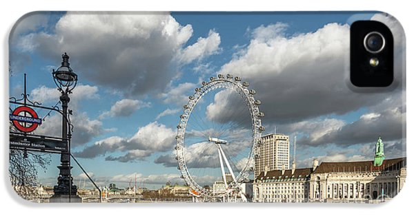 Victoria Embankment IPhone 5 Case by Adrian Evans